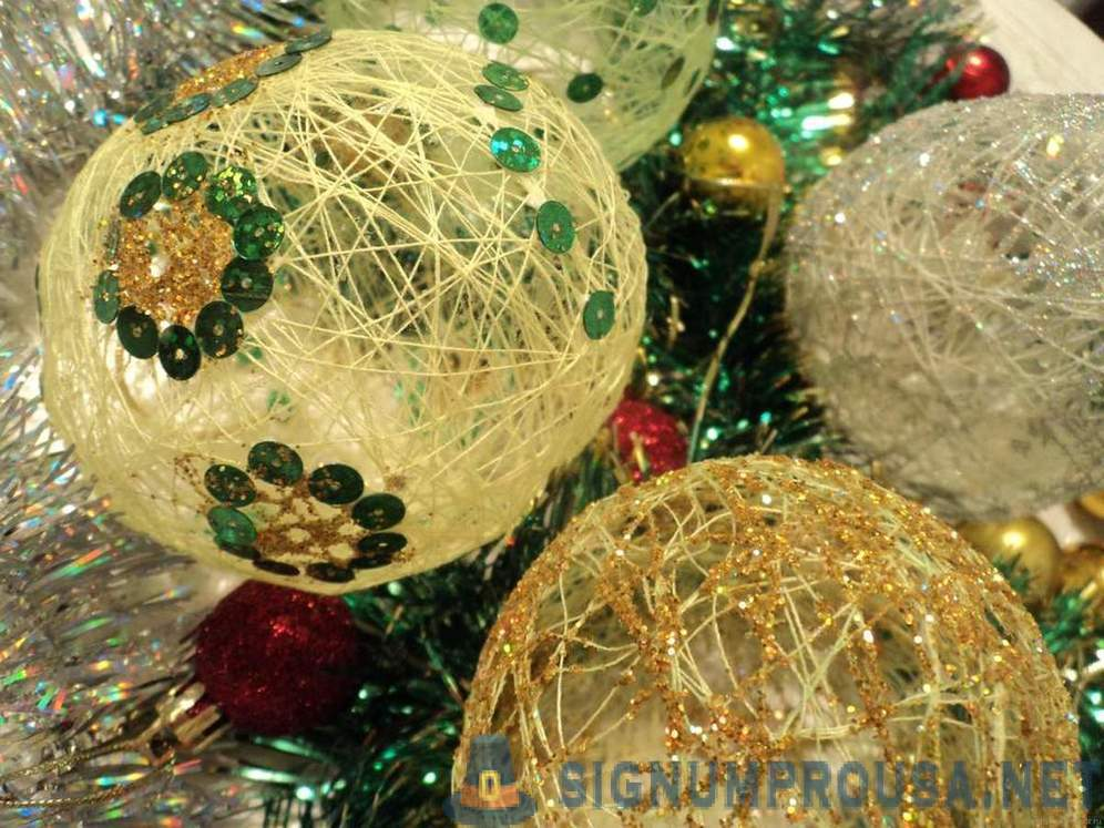 Christmas decorations with your hands (18 photos) | Do it yourself