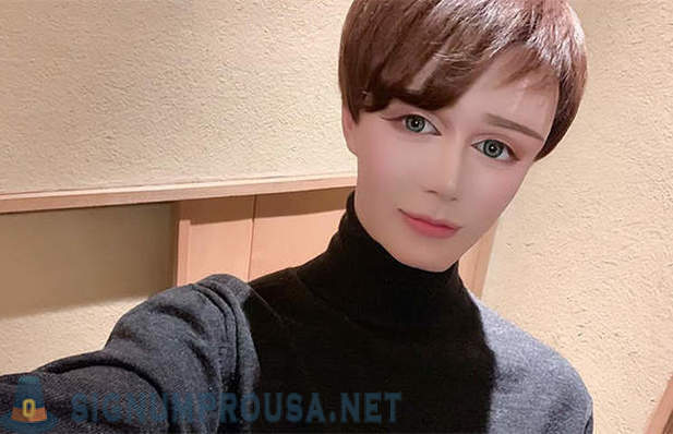 Man turned himself from an ordinary Japanese boys in the living doll