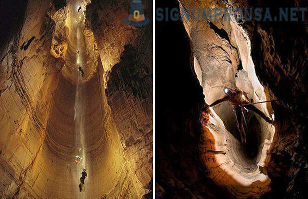 Scientists have discovered the world's deepest cave
