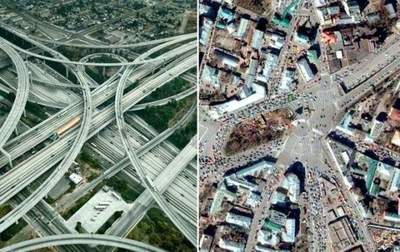 7 craziest intersections, which can get lost the most experienced driver