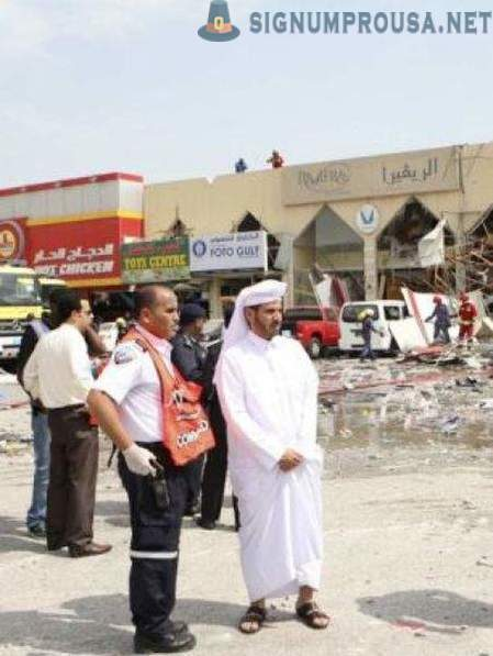 The explosion of a gas cylinder in Qatar has claimed dozens of lives