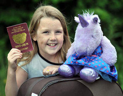 The girl crossed the border into Turkey in the passport of the Unicorn