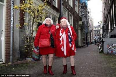 The oldest prostitute in Amsterdam retired