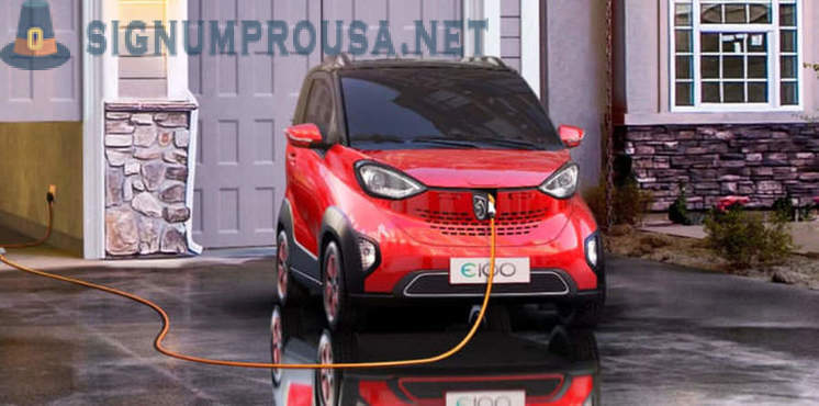 In China, began selling electric cars for 6000 dollars