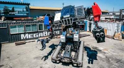 MegaBots introduced fully ready to fight a battle robot