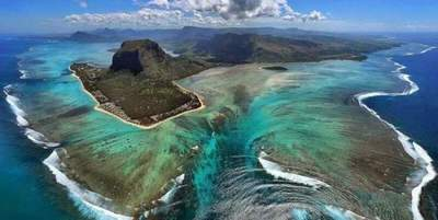 An island of Mauritius found traces of the