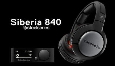 Overview of Wireless Gaming Headset SteelSeries Siberia 840