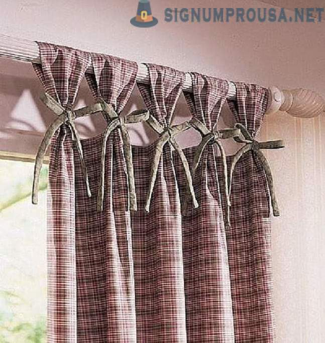 Stunning ways hanging of curtains!