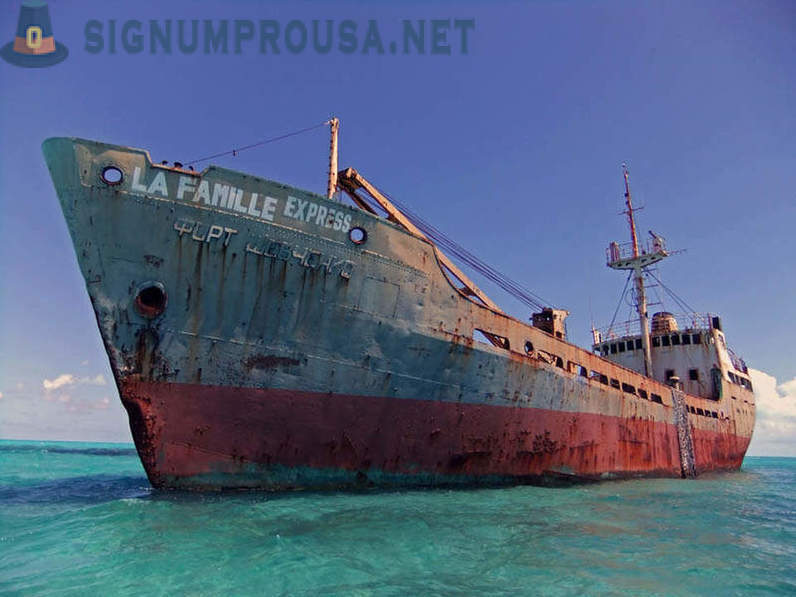 Abandoned ships from around the world