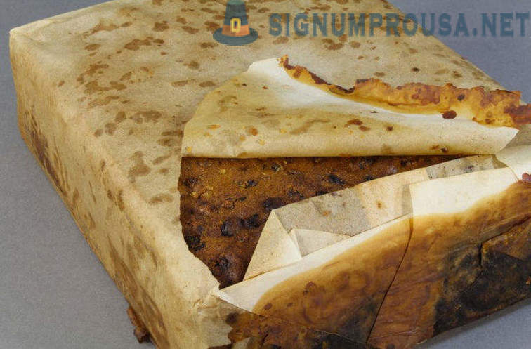 In Antarctica, we found a fruit cake, lay there for over 100 years