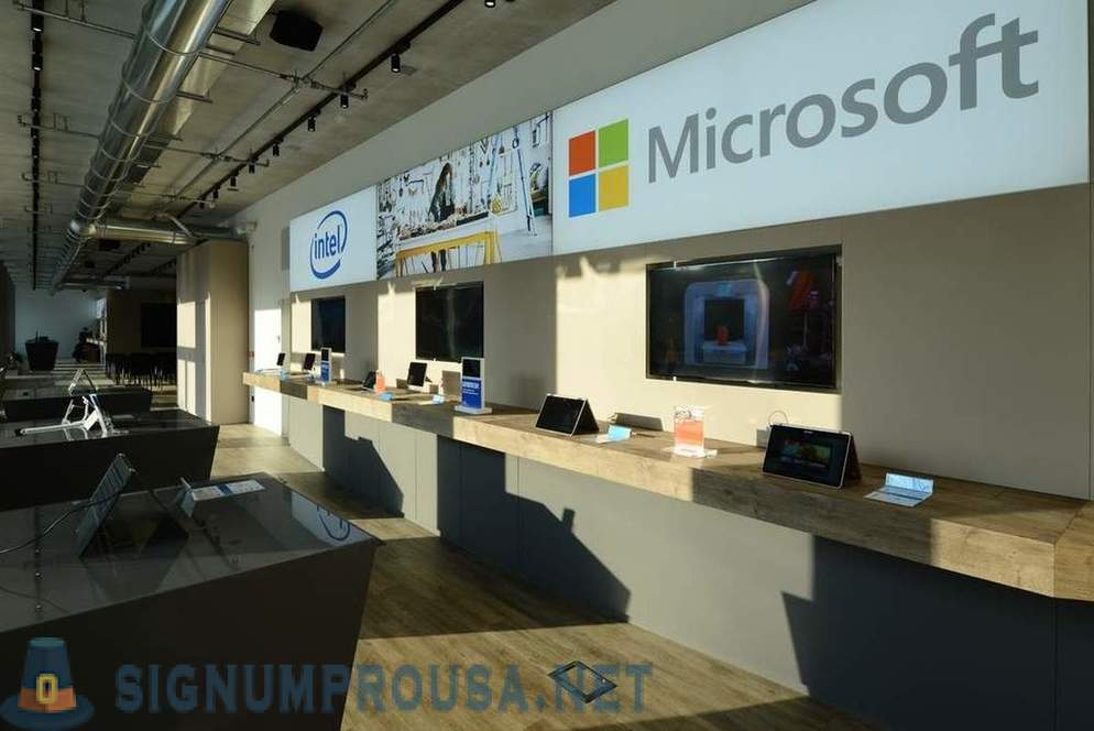What is Microsoft's new office in Italy