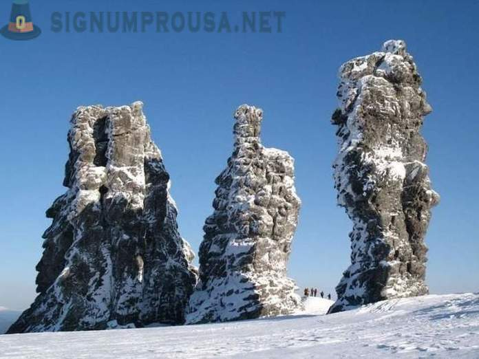 Incredible pillars - sights that can be seen in Russia