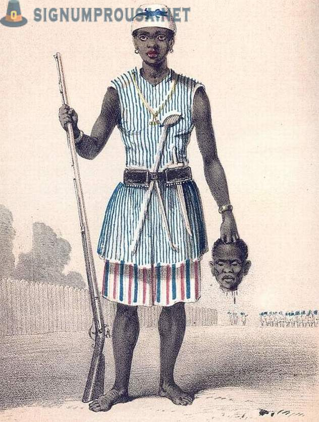 15 facts about the Dahomey Amazons - the fiercest warrior woman in the history of