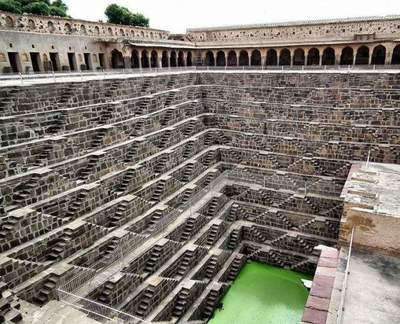Chand Baori - unique well