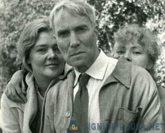 Olga Ivinskaya and Boris Pasternak: love, for which had to pay for years in prisons and camps
