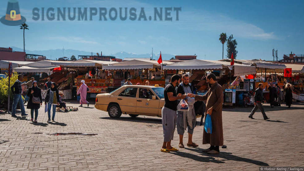 Moroccan tales: His Majesty, Marrakech