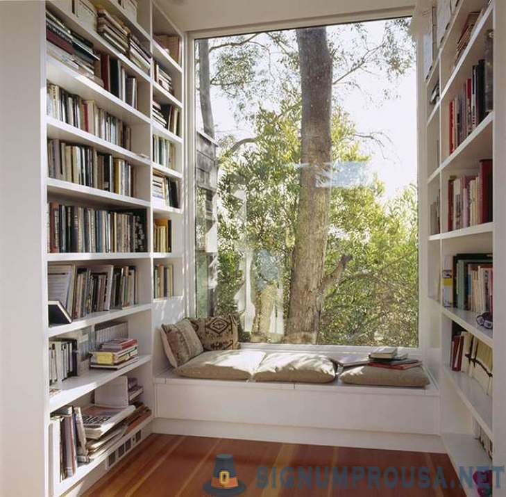 The ideal place to get comfortable and read