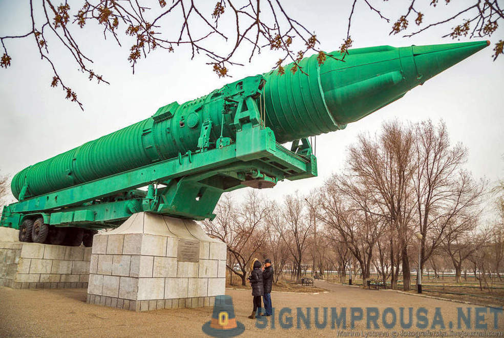 Walk on Baikonur