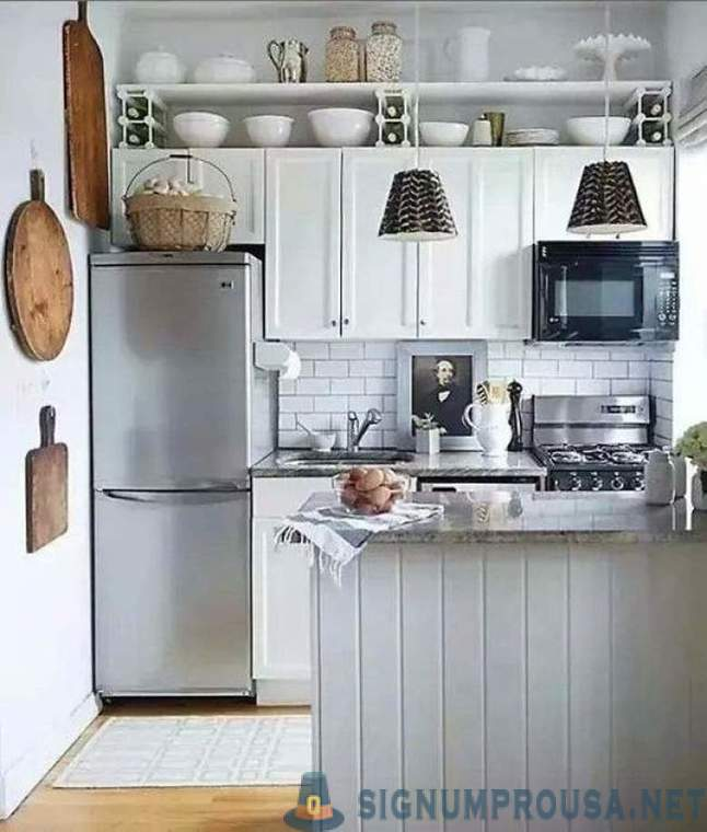 20 ideas on how to make the most of the space of a small kitchen
