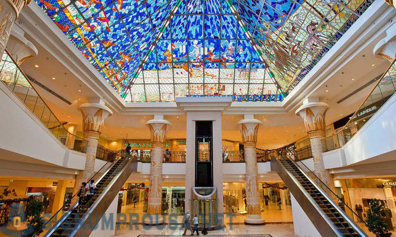 How are the biggest shopping centers of the world