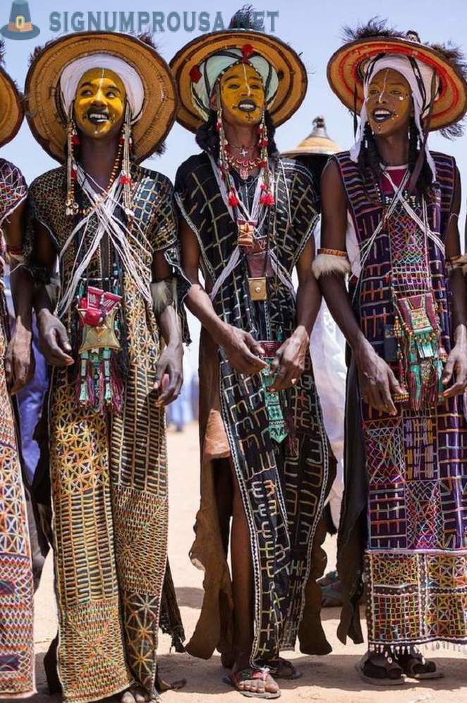 Fair grooms, or how to pass a beauty contest among the men in Niger
