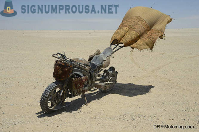 How to make motorcycles in the film Mad Max