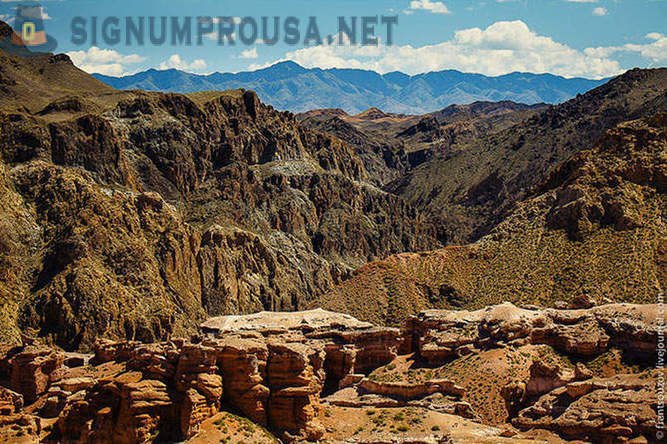Journey to the Charyn canyon in Kazakhstan
