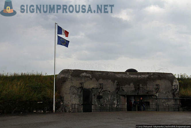 How does the French military bunker Maginot Line