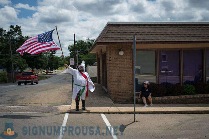 Day in the life of the Ku Klux Klan