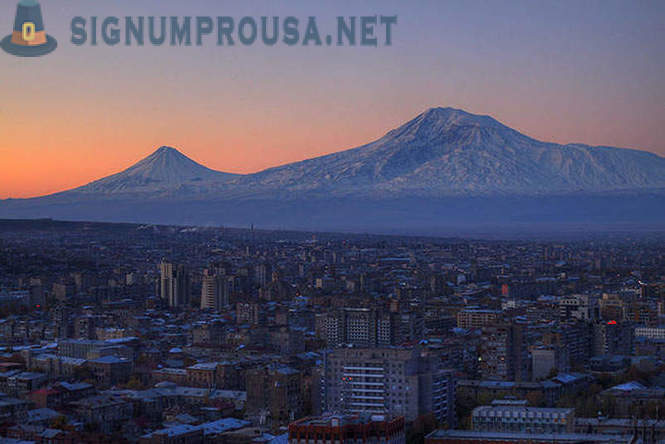 Walking in Yerevan