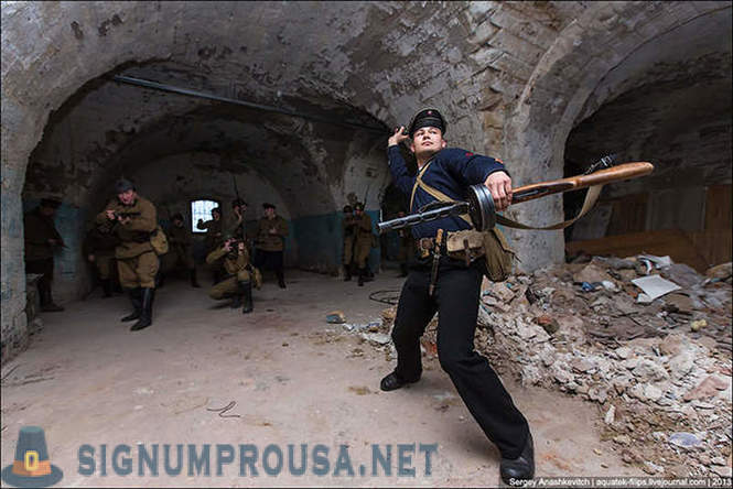 St. Michael's defense battery in Sevastopol