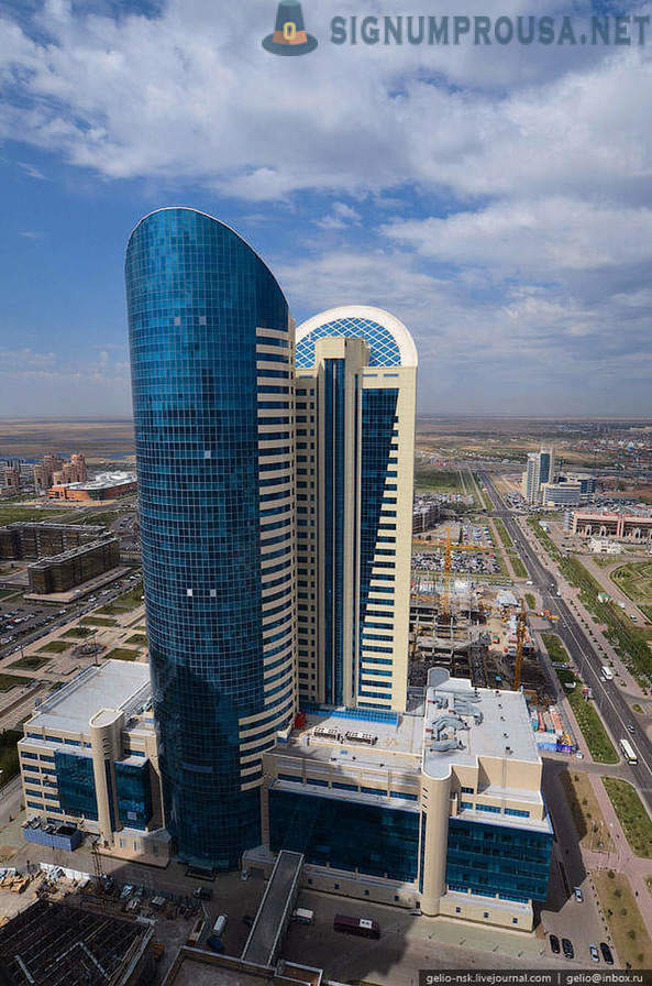 Astana from height